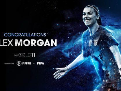 Orlando Pride's Morgan, Marta named to Women's World 11