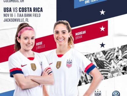 USWNT to end record-setting 2019 in Jacksonville