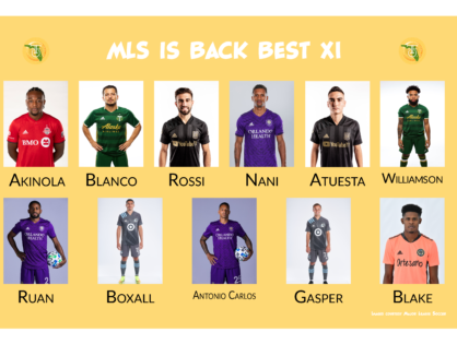 MLS is Back Best XI