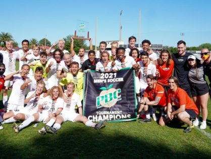 Flagler College men win Peach Belt Conference Tournament