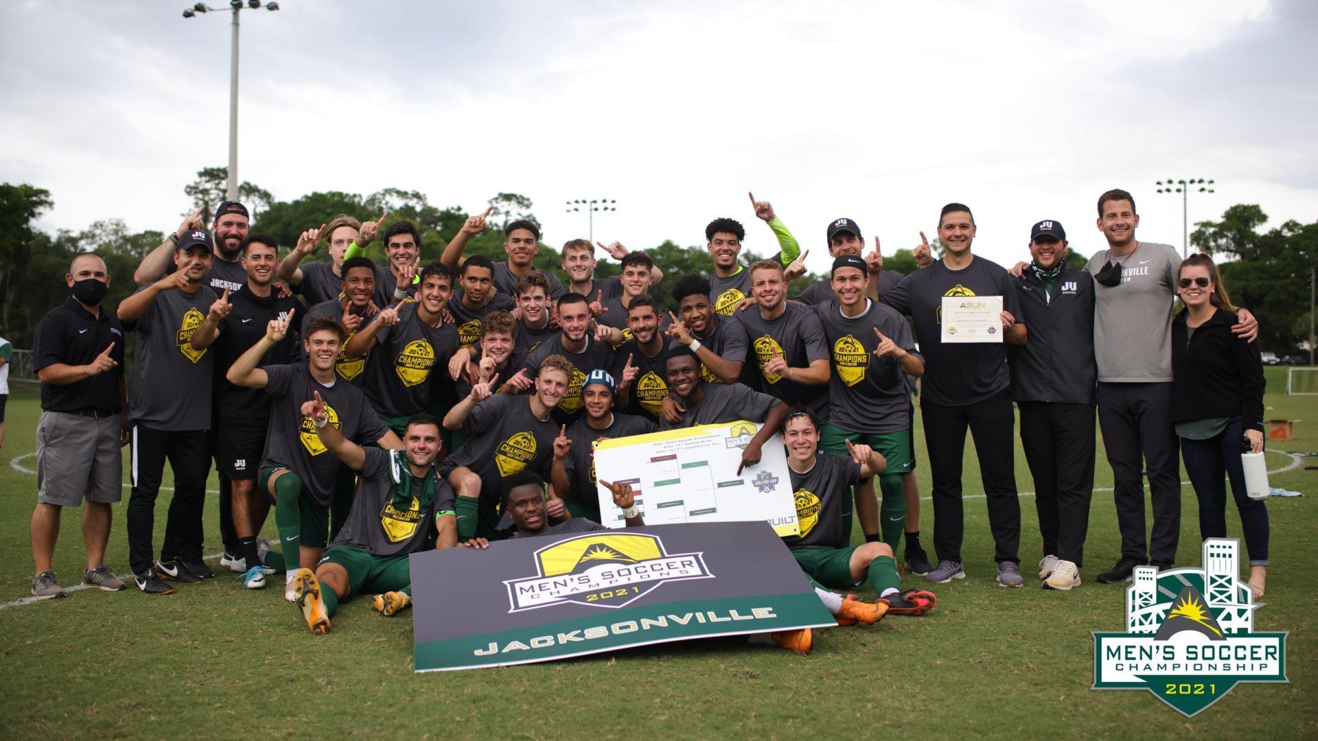 Jacksonville University wins ASUN men's soccer title