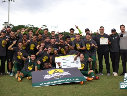 Jacksonville University wins ASUN men's soccer title