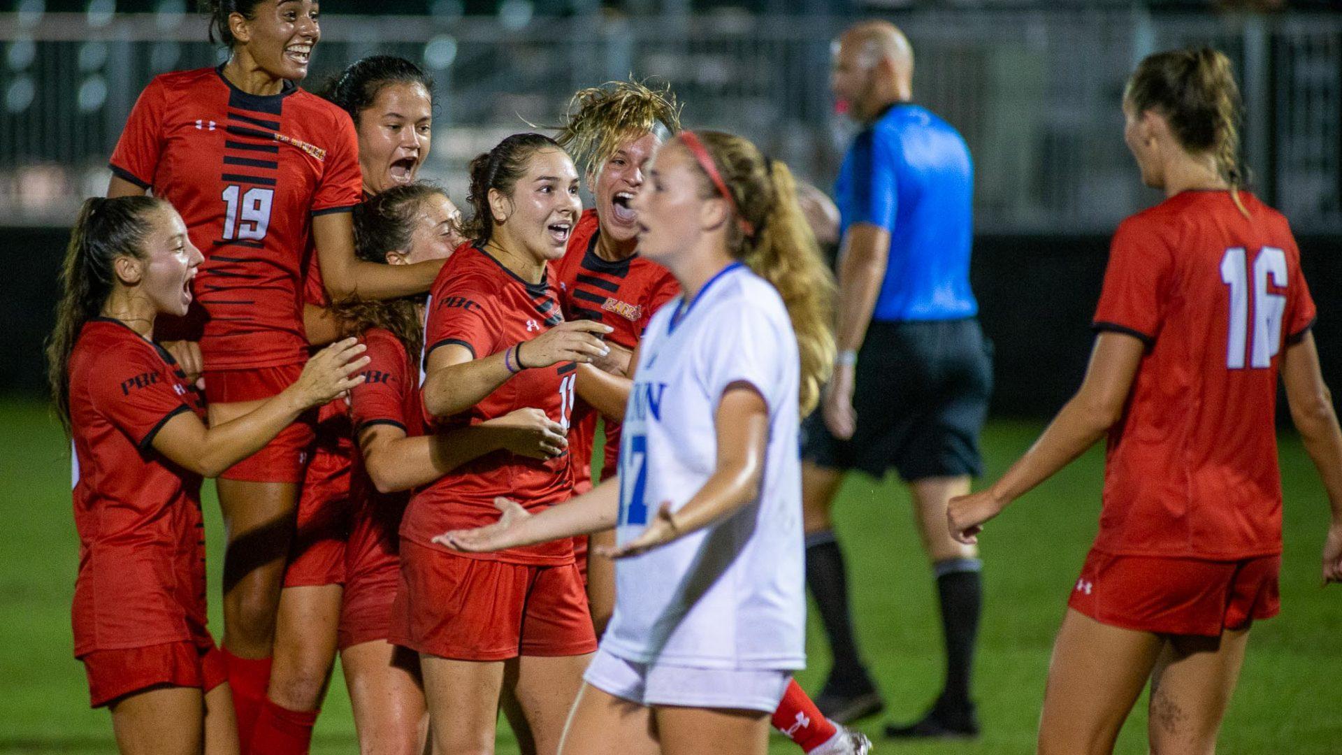 Flagler College women's soccer holds off Lynn University upset attempt
